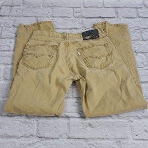 Levi 514 Men's Straight Twill Pants in Caraway siz